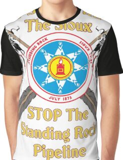 Standing Rock Sioux Crossed Arrows Graphic T-Shirt