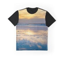 yellow reflections and calm waves Graphic T-Shirt