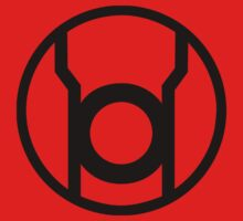 Red Lantern Corps Symbol - Reversed by xanaman