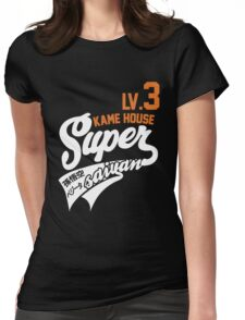 Dragon Ball Z - Supersaiyan Kame House Womens Fitted T-Shirt