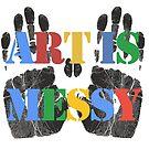 Art is Messy by Edward Fielding