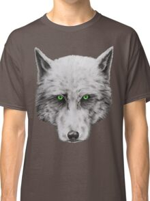 Green Eyed Wolf Classic T-Shirt