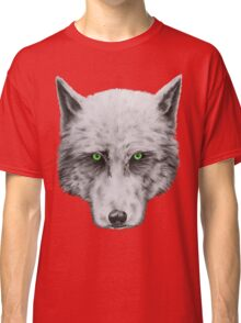 Green Eyed Wolf Classic T-Shirt