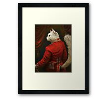 The Hermitage Court Chamber Herald Cat Framed Print