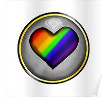 LGBTQ+ Heart Poster