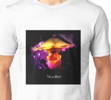 Tilt-a-Whirl - Orchid Alien Discovery Unisex T-Shirt
