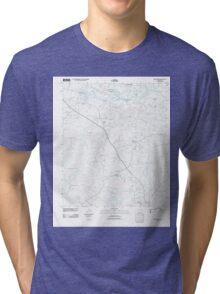 USGS TOPO Map Arkansas AR Smackover 20110711 TM Tri-blend T-Shirt