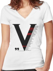 And You May Call Me... Women's Fitted V-Neck T-Shirt
