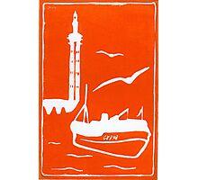 Home in Orange Photographic Print