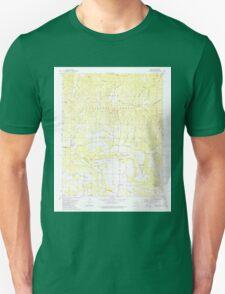 USGS TOPO Map Arkansas AR Ludwig 258973 1980 24000 Unisex T-Shirt