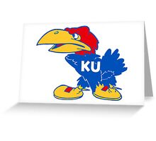 Don't Mess With The Jayhawk! Greeting Card