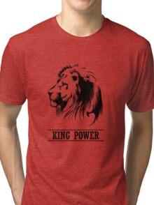 Lion Head,king power,  Tri-blend T-Shirt