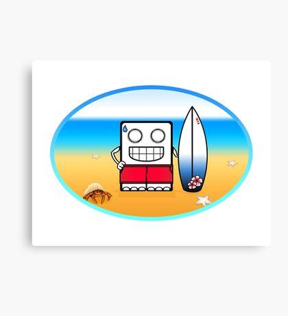 Summer Fun (Tee) Canvas Print