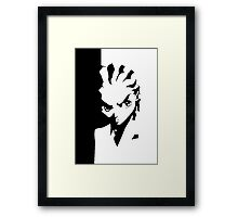 Scarfaced Riley Framed Print
