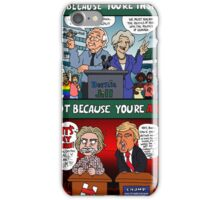 Vote Because You're Inspired, Not Because You're Afraid iPhone Case/Skin