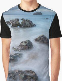 Bass Rock view Graphic T-Shirt