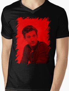Miles - Celebrity Mens V-Neck T-Shirt