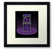 Arcane Arcade Framed Print