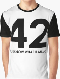 The meaning of life, the universe and everything Graphic T-Shirt