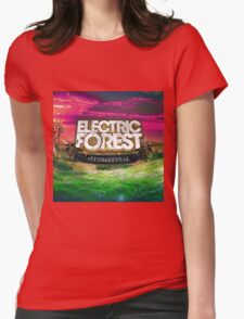 ELECTRIC FOREST #EF 2016 Womens Fitted T-Shirt