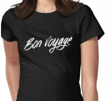 Bon voyage! Womens Fitted T-Shirt