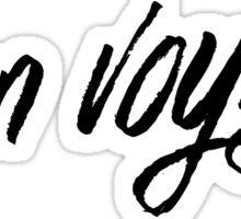 Bon voyage! Sticker