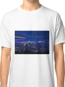 Sunrise over Barcelona, Spain  Classic T-Shirt