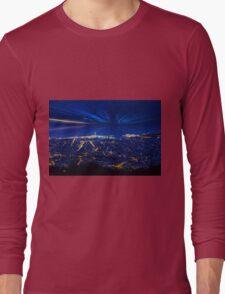 Sunrise over Barcelona, Spain  Long Sleeve T-Shirt