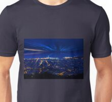 Sunrise over Barcelona, Spain  Unisex T-Shirt