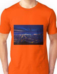 Sunrise over Barcelona, Spain  Unisex T-Shirt