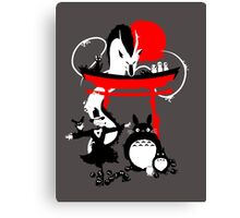 Japanese Creatures Canvas Print