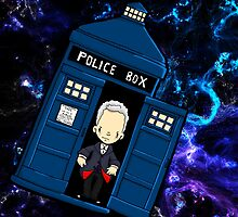 TARDIS in SPACE doctor who 12 by Bantambb