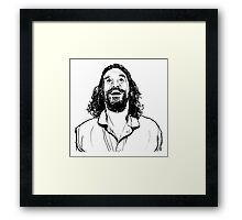 The Dude - Ecstatic  Framed Print