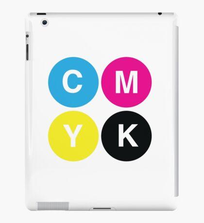 CMYK Stops iPad Case/Skin