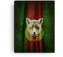House of Nuallán Coat of Arms Canvas Print