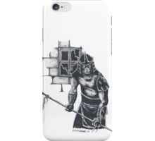 Enter The Shredder! iPhone Case/Skin