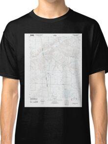 USGS TOPO Map Arkansas AR Cherokee City 20110713 TM Classic T-Shirt