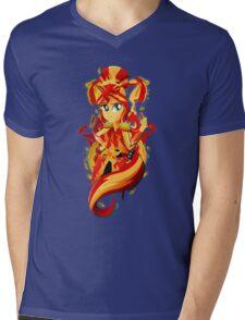 LoE: Sunset Shimmer Mens V-Neck T-Shirt