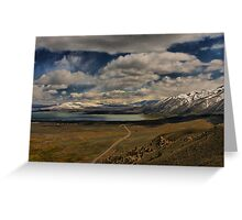 The Road to Mono Lake Greeting Card