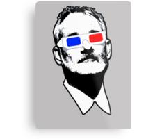 Bill Murray 3D Glasses Metal Print
