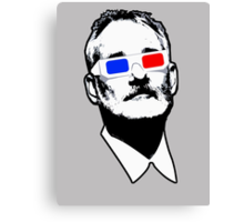 Bill Murray 3D Glasses Canvas Print
