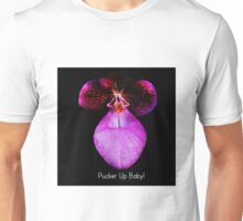 Pucker Up Baby! - Orchid Alien Discovery Unisex T-Shirt