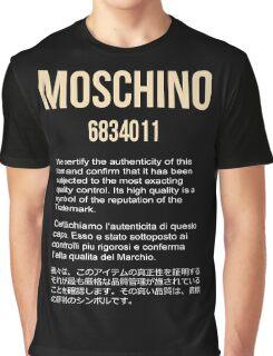 MOSCHINO GOLD #1 Graphic T-Shirt