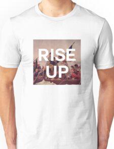 Rise Up - George Washington - inspired by Hamilton Musical Unisex T-Shirt