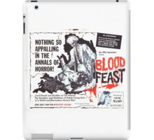Blood Feast - Poster iPad Case/Skin