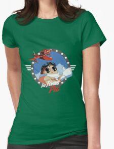 The Flying Pig Womens Fitted T-Shirt