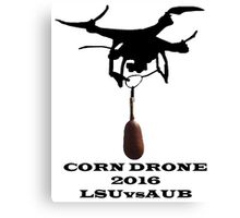 Corn Drone LSU vs Auburn Canvas Print