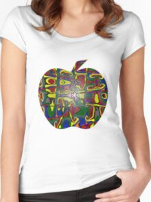 Candy Apple iPhone / Samsung Galaxy Case Women's Fitted Scoop T-Shirt