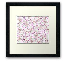 Fresa acida / Acid strawberry Framed Print