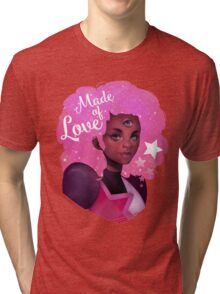 GARNET - STEVEN UNIVERSE - MADE OF LOVE Tri-blend T-Shirt